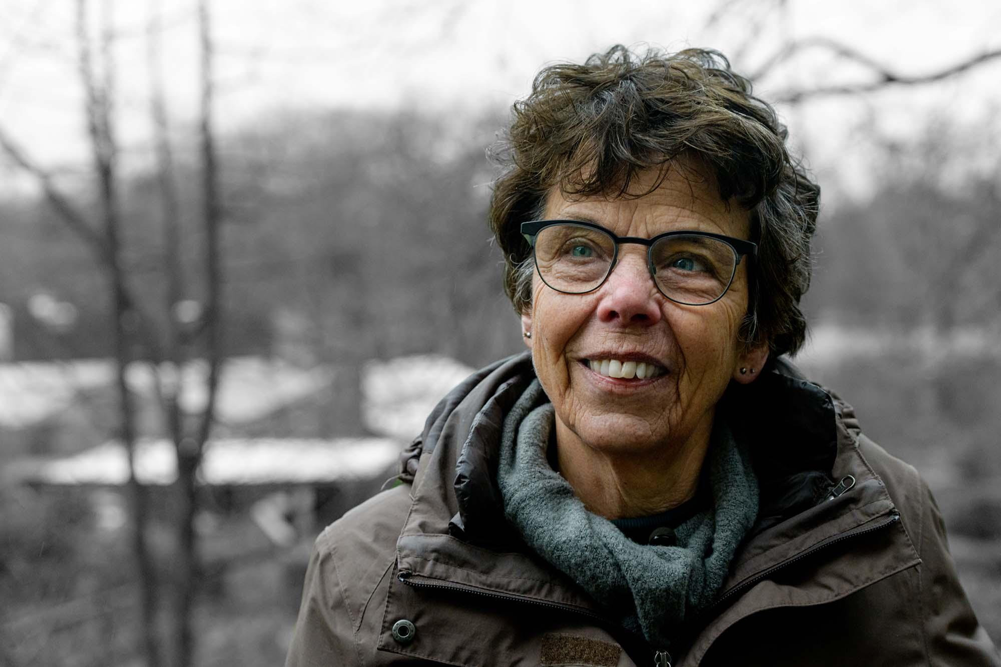 Anja Gramberg begeleidster van de psychiatrische inrichting de Willem Arntsz Hoeve in Den Dolder.