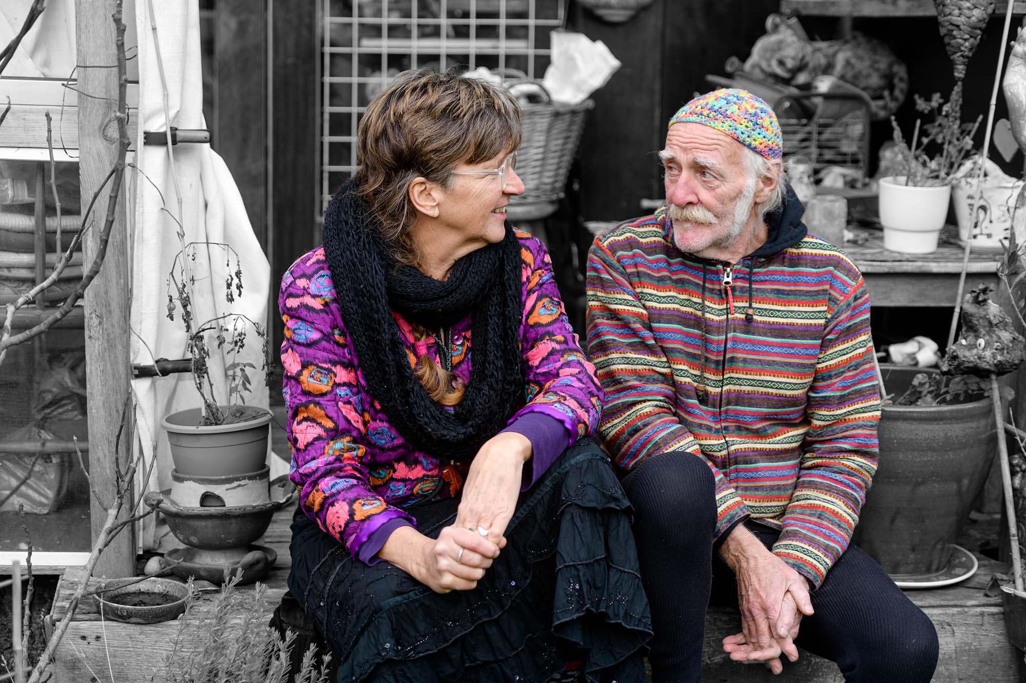 Mensen van Den Dolder Gera Hoogland en John Panders